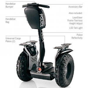 Segway PT - Used by the Police
